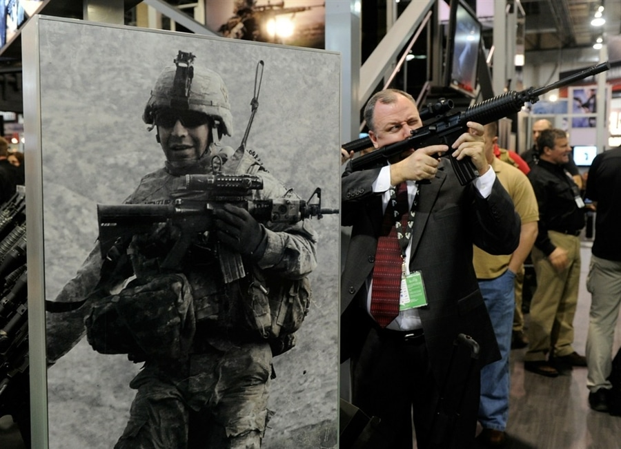 how to get into shot show