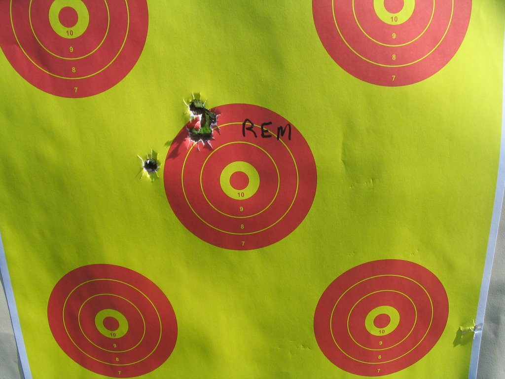 5 shot group at 25 yards