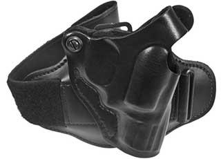 opplanet desantis right hand black leather ankle holster